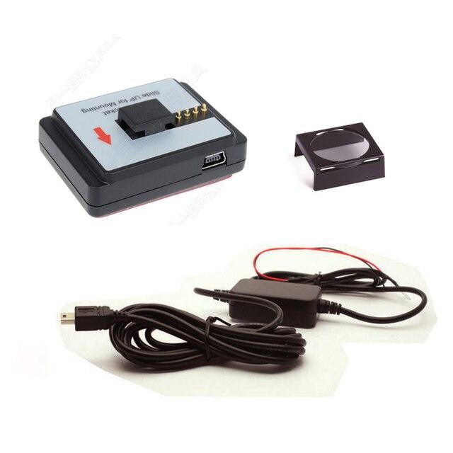 VIOFO CPL Filter Lens Cover + GPS module mount + 12V to 5V hardwire cable for VIOFO A119 /A119S Car Dash Dashcam Camera DVR