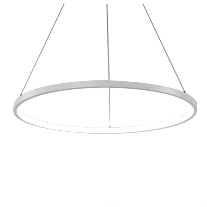 BIFI-60cm Modern LED Acrylic Round Pendant Chandelier Ceiling Lamp Lighting Light