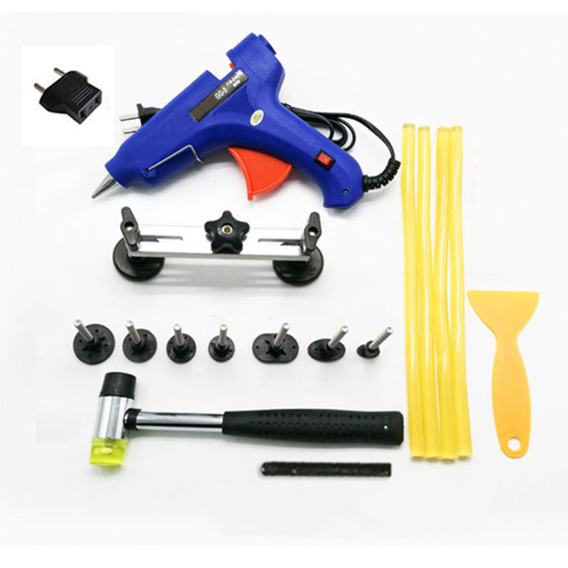Paintless Dent Removal Car Repair Tool Kit Removing Dents Auto Tools Puller Dent  Pulling Bridge Suction Cup(China)