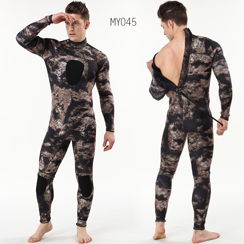3mm camouflage suit with chloroprene rubber camouflage submersible suit and warm surf suit3mm camouflage suit with chloroprene rubber camouflage submersible suit and warm surf suit