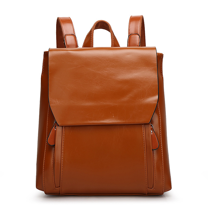 New 2018 Women Genuine Leather Backpack High Quality School Bags For Mochila Feminina Teenagers Girls 5 Colors Travel Bag voyjoy t 530 travel bag backpack men high capacity 15 inch laptop notebook mochila waterproof for school teenagers students
