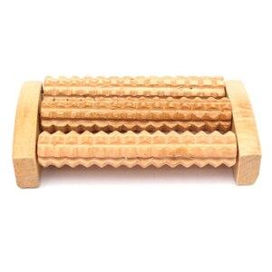 Image 2 - Rolo de massagem para pés, rolo de madeira para massagem nos pés, fascite plantar