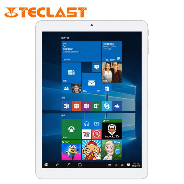 "Teclast X98 Plus II  9.7 "" Intel Z8300 Android 5.1 & Windows 10 Dual OS Quad Core 4G RAM 64G ROM  IPS Retina 2048*1536 Tablet PC"