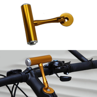 Bicycle Bike Handelbar Expansion Rack Cycling Multifunction Headset Cover Extension Frame Mountain Road Bike T-type Adapter