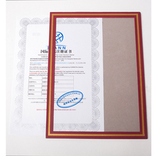 CUCKOO certificate picture photo frame paper A4 document hang creative retro display contract receiving folder