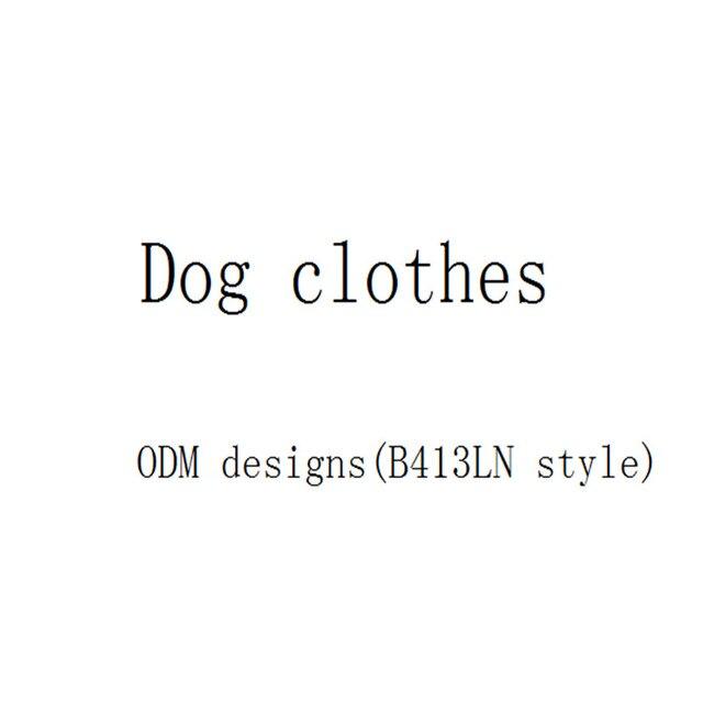 Vestiti del cane per B413LN stile B349