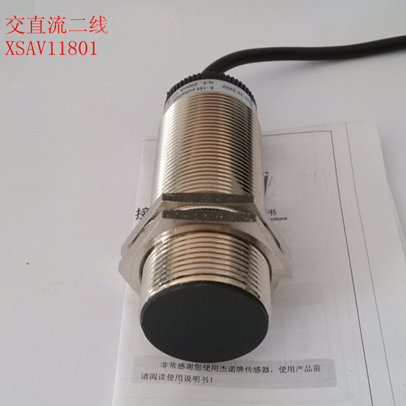 XSAV11801 Inductive Proximity Switch Speed Sensor Motion Rotate Detector 0-10mm DC/AC 24-240V 2-Wire 30mm Replace Telemecanique tl n10my2 10mm sensing ac 2 wire nc cube shell inductive screen shield metal proximity switch tl n10m proximity sensor 18 18 36