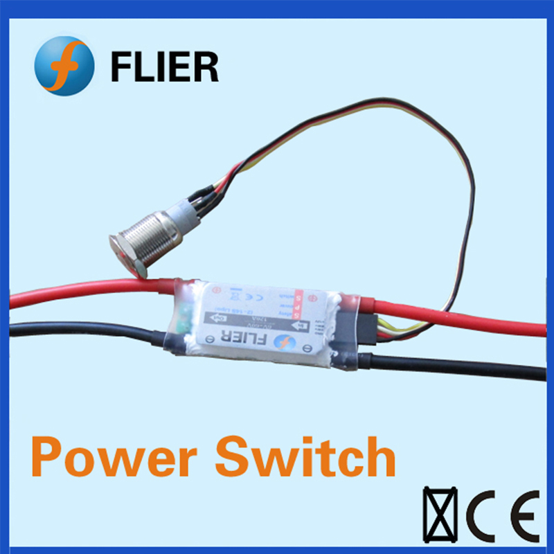 FATJAY FLIER Power Switch 2-14S 120A  60V Max Voltage For Skateboard VESC And Long Board ESC