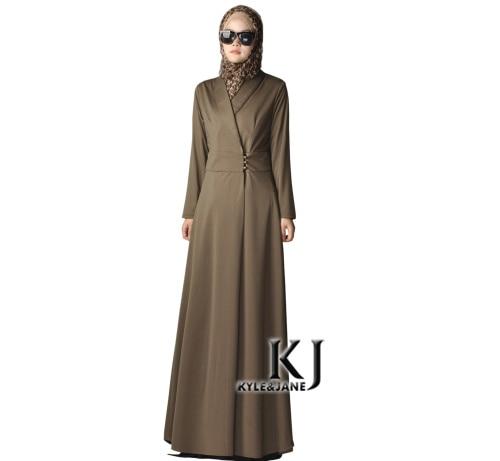 2015 Muslim djellaba turkish women plus size warm clothing long abaya dubai  fashion high quality polyester elegance robe KJ-in Islamic Clothing from  Novelty ... 48cd07e546ae