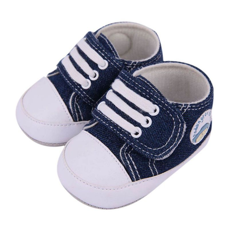Baby Boy Shoes Lace-Up Kids Casual Sneakers infant toddler First Walkers