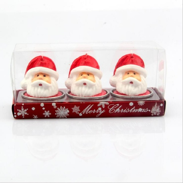 Santa Claus Scented Candles
