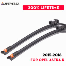 QEEPEI Wiper Blades For Opel Astra K 2015 Onwards 28''+24''R Rubber Clean Front Windshield Windscreen Car Accessories CPC121