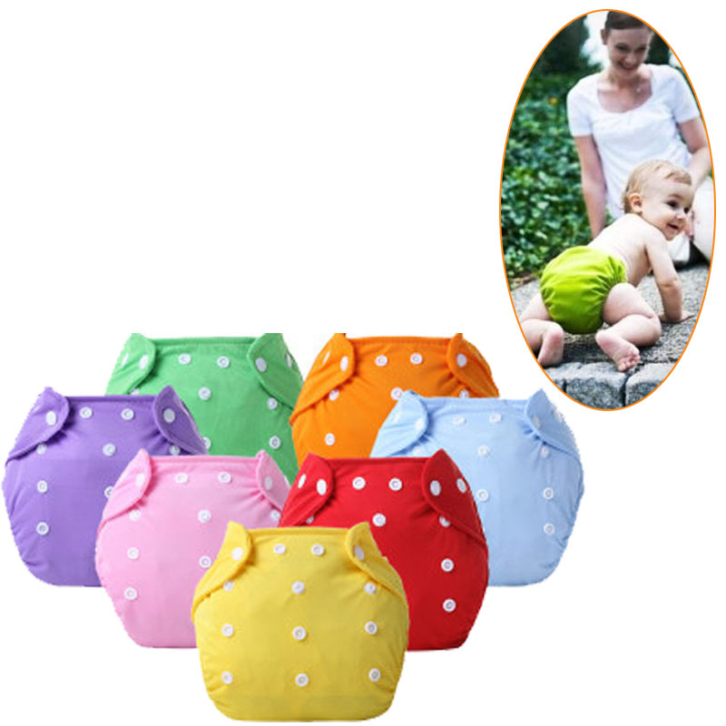 0-12 Months Newborns Adjustable Training Pants Reusable Nappies  Soft Covers Baby Cloth Diapers Diaper Nappy Changing