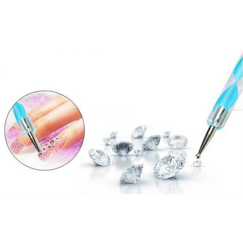 Aliexpress.com : Buy 5Pcs 2 Way Dotting Tools Marbling Tool Nail Art ...