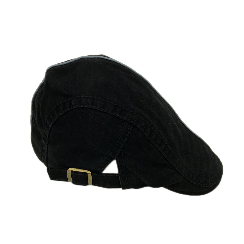 fa537aeadfc Cotton Berets Caps For Men Casual Peaked Caps Middle line Letter Embroidery  Berets Hats Cap Vintage Flat Hat YY7065-in Berets from Men s Clothing ...