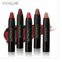 FOCALLURE 12 Colors Sexy Lipstick Waterproof Long Lasting Lip Pencil Pigment Velvet Brown Nude Matte Lipstick