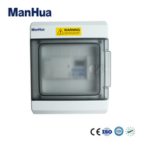 Manhua Counter Cronometro Hourmeter Three Phase 63A MT153C 63 With Protection Level IP65 Digital Timer Switch Control Box