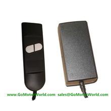 Линейный привод адаптер питания Блок управления Лер 110-240 В AC Вход 12 или 24 В DC Выход с проводом трубка ручной переключатель