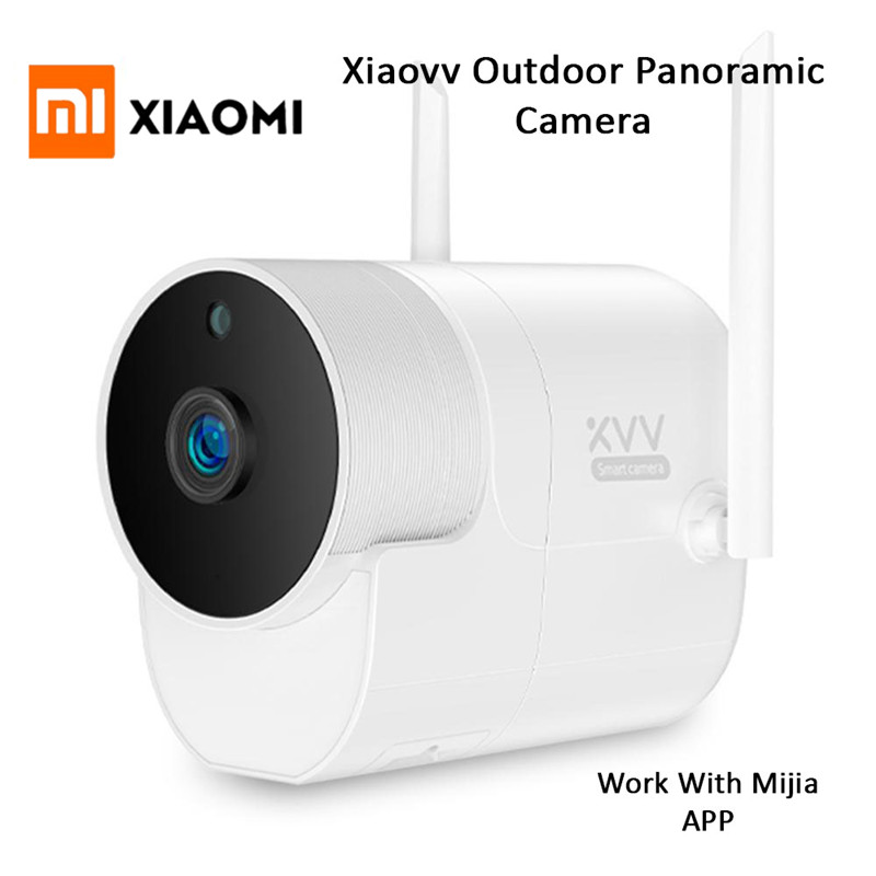 New Xiaomi Xiaovv Outdoor Panoramic Camera 1080P Surveillance camera Wireless WIFI High definition Night vision With
