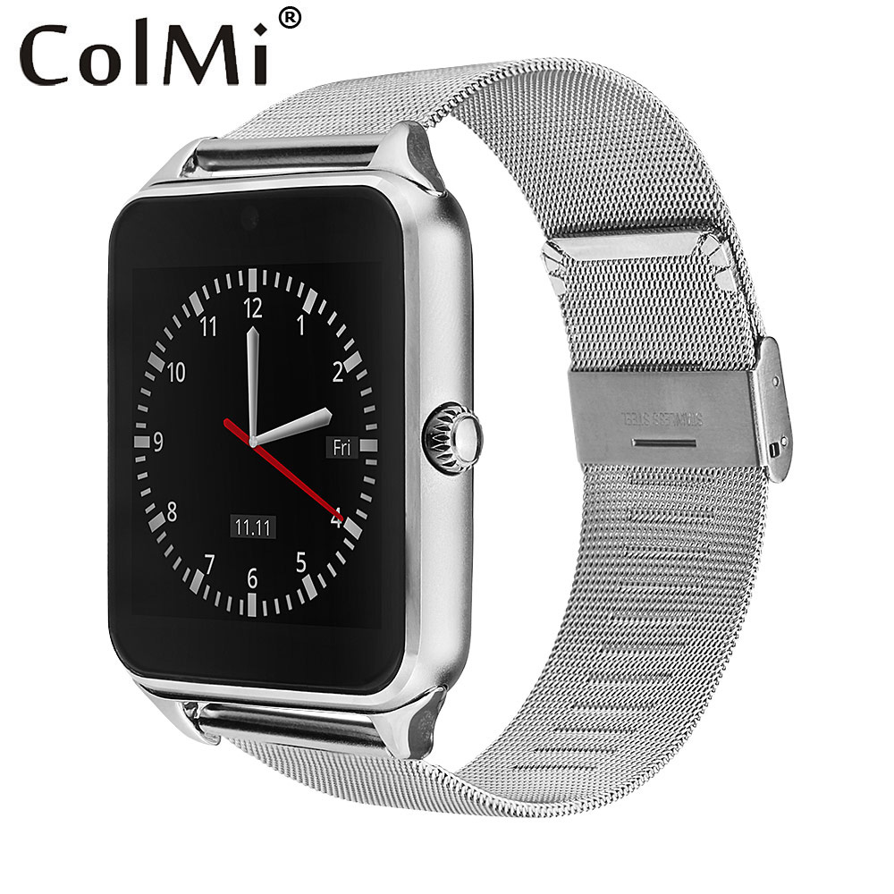 COLMI Smart Watch GT08 Clock Sync Notifier Support Sim TF Card Bluetooth Connectivity Android Phone Smartwatch Alloy Smartwatch 696 smart watch q18 clock sync notifier support sim sd card bluetooth connectivity android phone smartwatch sport pedometer