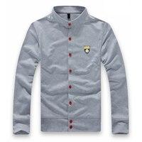 Men S Boutique Leisure Pure Cotton Sweatshirts Male Fall Leisure Coat Men Labeling Casual Jackets Men