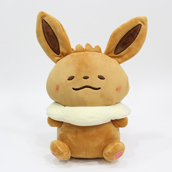 5 pcs/lot 30CM Anime Eevee Plush Doll Figure Eievui soft Stuffed Plush Toy High Quality kawaii pillow For Gifts