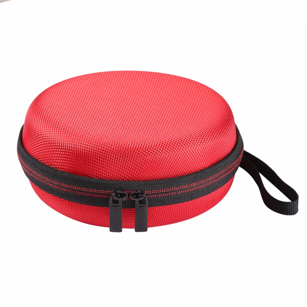 Wireless Bluetooth Speaker Hard EVA Case For Logitech UE ROLL 2/UE ROLL With Mesh Dual Pocket For Charger & Cables Travel Bag