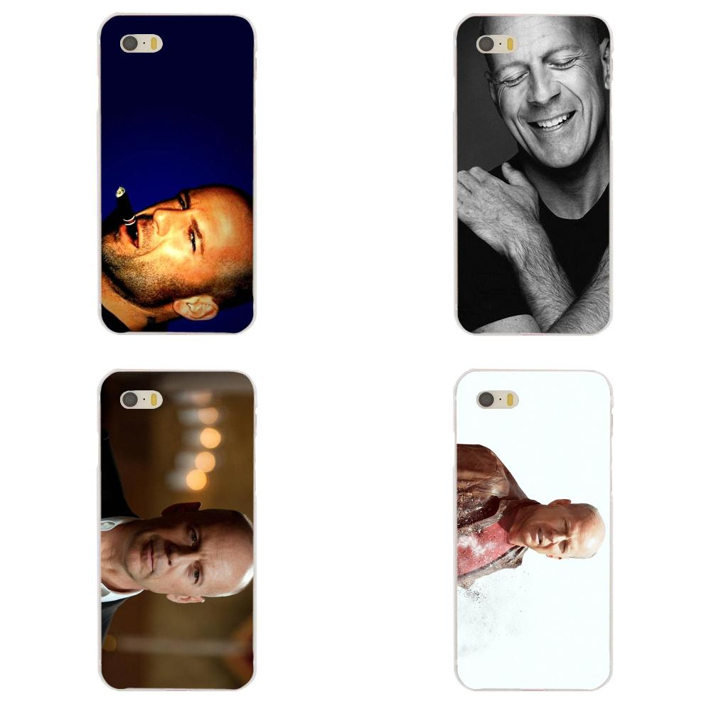 For Galaxy J1 J2 J3 J330 J4 J5 J6 J7 J730 J8 2015 2016 2017 2018 mini Pro Soft Bags Cases Live Free Or Die Hard Bruce Willis