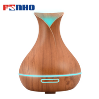 FUNHO 300ml Aroma Humidifier Essential Oil For Aromatherapy Diffuser Mist Maker Ultrasonic Night Light Humidificador For