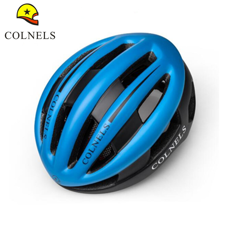ФОТО Colnels 13 Vents Casco Ciclismo Capacete Ciclismo Integrally-molded Bicycle Helmet EPS+PC Road Riding Bike Cycling Helmet