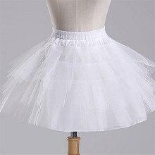 Новые детские юбки для торжественных мероприятий/платье с цветочным узором для девочек кринолиновый короткий подъюбник с капюшоном для маленьких девочек/детей/детский подъюбник