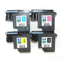 REMAN para HP 11 cabezal de impresión C4811A C4812A C4813A C4810A negro cian amarillo MAGENTA|reman| |  -