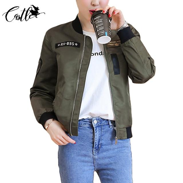 2 Farben Frauen Basic Mäntel Zerrissene Jacke Patchwork Mantel Armee Grün  Schwarz Herbst Jacken Frauen Chaquetas
