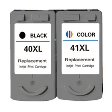 2PK PG40 40 CL41 41 Ink Cartridge Cartouche encre For Canon Pixma MP160 MP140 MP180 MP190 MP210 MP220 MX310 iP1800 iP2500 MX318(China)