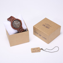 059R MenClock Watches Quart Wooden Watch Male Circular Retro Type relogio masculino Valentine's Day gift 2018 male fashion watch