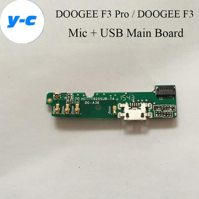 Doogee f3 pro usb mainboard + mic 100% novo usb original placa principal + microfone acessórios reparação de substituição para doogee f3 telefone