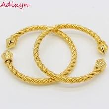 Adixyn браслет в дубайском стиле & bangles для женщин ювелирные