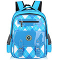 Fashion England Boys Girls Students School Bag 1-3-6 Grade Preppy Chic Bookbag Super Light Aristocratic Children's Backpack A009