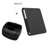 JINXINGCHENG Case for Iqos Multi 3.0 Holder Box Leather Case Flip Wallet Pouch Bag and Charger for Iqos Multi Charging
