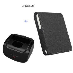Image 1 - Jinxingchengためiqosマルチ3.0ホルダーボックスレザーケースフリップ財布ポーチバッグと充電器iqosマルチ充電