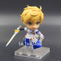 Nendoroid Anime Fate Grand Order Saber Arthur Pendragon PVC Action Figure Collection Model Kids Toys Doll 10cm