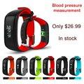 "Smartband P1 Bluetooth Heart Rate Monitor de Presión Arterial Monitor de Pulsera A Prueba de agua IP67 Usable Pulsera Inteligente 0.86 ""OLED 2"