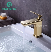 Nieneng Новый Дизайн смесители золотой кран Банные принадлежности бассейна раковина смеситель Товары для ванной смеситель icd60355