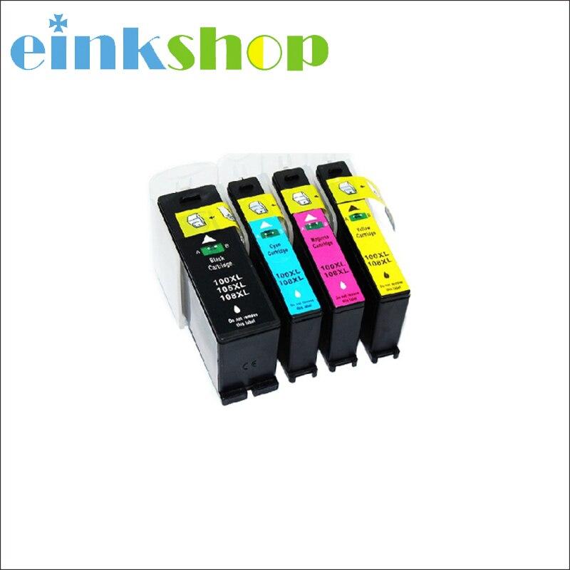 20 PK For Lexmark 100 XL NON-OEM Ink Cartridge 5 Set Pro901 Pro905 Pro205 S505