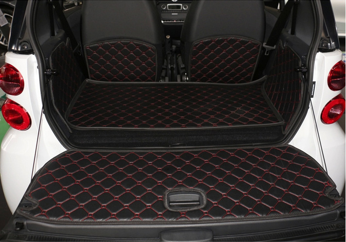 Car Accessories Mercedes Smart Trunk Mat Full 3d Surrounded By The
