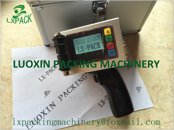 LX PACK Lowest Factory Price Industrial Time Date Character Inkjet PrinterCoding Printing Machine For Bottle Wire Cable