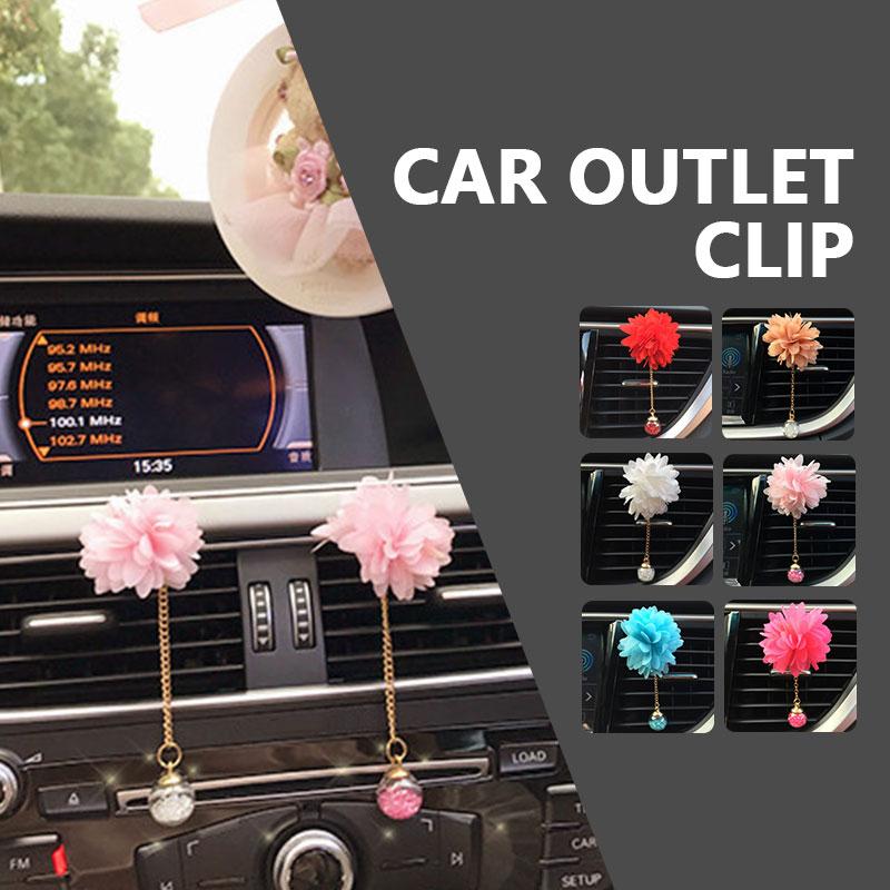 Освежитель диффузор Универсальный Автомобильный ароматизатор клип очиститель воздуха для ароматерапии воздуха на выходе Духи клип портативный авто аксессуар