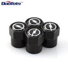 Doofoto otomatik kapaklar araba Styling kapakları amblemi durum için Opel H G J Corsa Insignia Astra Antara Meriv için Opc aksesuarları rozeti 4 adet