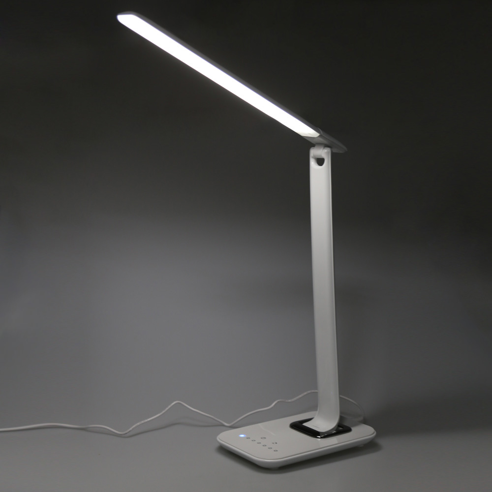 12W 72pcs 2835 LED Desk Lamp Foldable Dimmable Rotatable Eye Care LED Touch Sensitive Controller USB