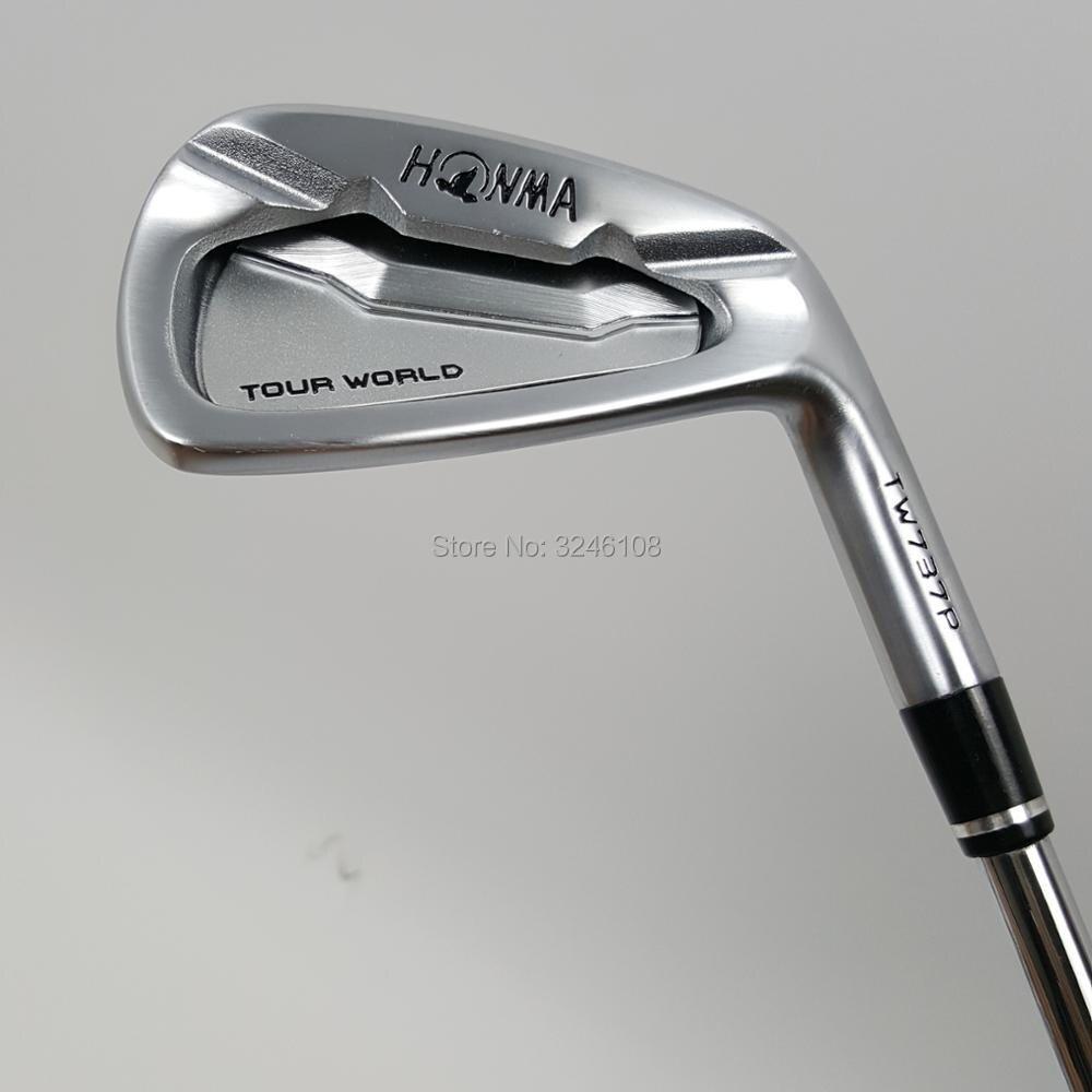 מועדוני גולף HONMA גולף ברזל עולם סיור TW737p קבוצת ברזל 4-10 w (10 יחידות)